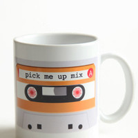Mix Tape Mug - &amp;#36;15.00 : ThreadSence.com, Your Spot For Indie Clothing  Indie Urban Culture