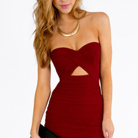 Diana Strapless Bodycon Dress $39