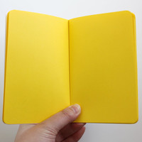 Bright Ideas Pocket Notebook with Yellow Pages