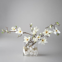 John-Richard Collection Flowing Magnolia Floral Arrangement