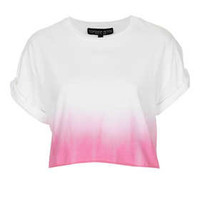 Petite Dip Dye Crop Tee - New In This Week  - New In