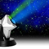 Laser Stars Projector Light Show Night Sky Blue LED Nebula Cloud NewAge NewAje - Amazon.com