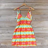 Arizona Sky Dress, Sweet Women's Bohemian Clothing