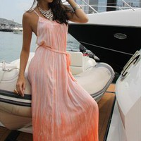Orange Maxi Dress from Itsie Bitsie