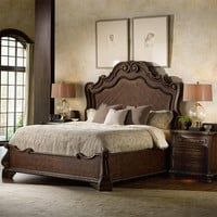 Adagio Queen Size Panel Bed