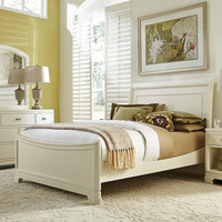 Eva Twin Size Sleigh Bed