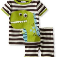 Amazon.com: Mud Pie Baby-Boys Newborn Dinosaur Short Pajama Set: Clothing
