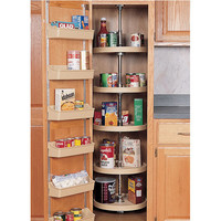 20 inch Full Circle Lazy Susan for Pantry Cabinet - 5 Shelf unit