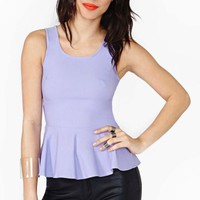 Holly Peplum Top