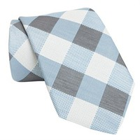 Ted Baker Simple Plaid Woven Silk Tie at Von Maur