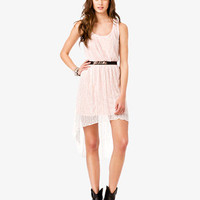High-Low Floral Lace Dress | FOREVER 21 - 2034669138