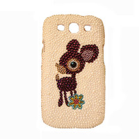 Handmade Hard Case for Samsung Galaxy S III/S3 GT-I9300: Bling Donkey (custom order are welcome)