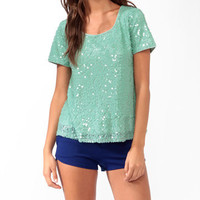 Shimmering Paillette Top