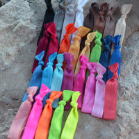 Hair Ties- All Colors (Soft, No Crease, No Tangle Hair Ties)