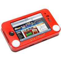 ThinkGeek :: Etch A Sketch iPhone Case