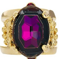 Limited Edition Ornate Jewel Ring at asos.com