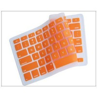 "Silicone Keyboard Cover for MacBook apple mac 13""-15"" Orange"