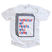 Adam J. Kurtz > SOMEDAY T-Shirt