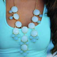 The Baby Blue Crew Necklace | Hope's