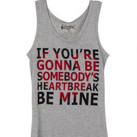 Hunter Hayes Somebody's Heartbreak Tank