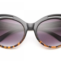 80's - Suzette Large Cat Eye Sunglasses