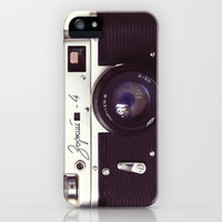 Zorki vintage camera iPhone & iPod Case by Bomobob