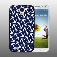 Nautical Anchor - design for Samsung Galaxy S4 Black case