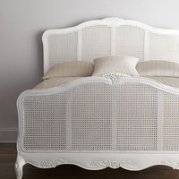 Shabby Chic Elliana Queen Cane Bed