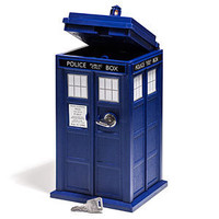 ThinkGeek :: Doctor Who TARDIS Mini Safe