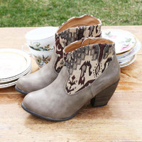 The Cooper Kilim Bootie, Sweet Country Inspired Shoes