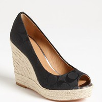 COACH 'Milan' Wedge Pump | Nordstrom
