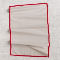 Cotton Tea Towel - Red Border