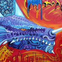 Dragon Lord Painting by Laura Barbosa - Dragon Lord Fine Art Prints and Posters for Sale