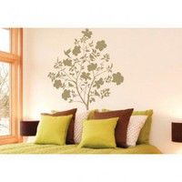 ADZif Spot Flowering Fan Wall Decal - S2202 - All Wall Art - Wall Art & Coverings - Decor