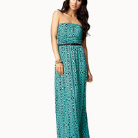 Geo Tribal Maxi Dress