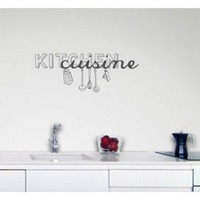 ADZif Blabla Kitchen Wall Decal - T3120 - All Wall Art - Wall Art & Coverings - Decor