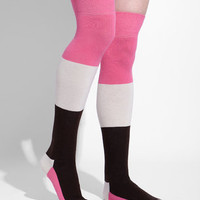 Neapolitan Over The Knee Socks