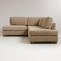 Putty Wyatt Sectional Sofa | World Market
