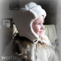 Organic Little Trapper 2 to 4 Years Made to Order by worthygoods
