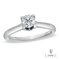 Vera Wang LOVE Collection 5/8 CT. T.W. Diamond Engagement Ring in 14K White Gold - View All Rings - Zales