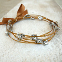 Luminescent Bracelet [4106] - $21.00 : Vintage Inspired Clothing & Affordable Summer Frocks, deloom | Modern. Vintage. Crafted.