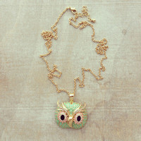Pree Brulee - Sweet Owl Necklace