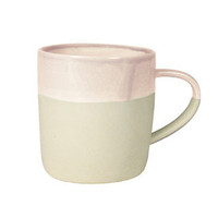 canvas  — Shell Bisque Mug in Aubergine