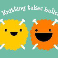 Craftster Shop — Knitting Takes Balls T-shirt (Men's / Unisex) — Awesome gifts for crafters