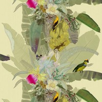 Timorous Beasties Wallcoverings  - Merian Palm