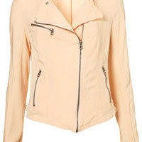 Tencil Jersey Panel Biker - New In This Week - New In - Topshop