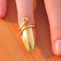 MAYA LUNE Snake Nail Jewelry