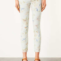 MOTO Cream Floral Skinny Jeans - New In This Week  - New In