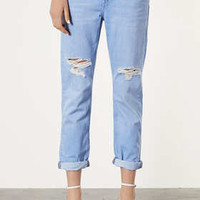 MOTO Light Blue Boyfriend Jeans - New In This Week  - New In
