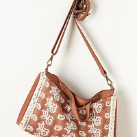 Bloom-Stitch Satchel